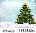 Christmas Realistic Background 48893801