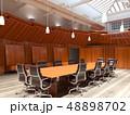 オフィス 会議 カンファレンスのイラスト 48898702