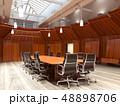 オフィス 会議 カンファレンスのイラスト 48898706