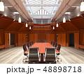 オフィス 会議 カンファレンスのイラスト 48898718