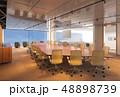 オフィス 会議 カンファレンスのイラスト 48898739