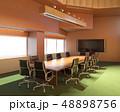 オフィス 会議 カンファレンスのイラスト 48898756
