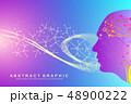 遺伝子 DNA 挿絵のイラスト 48900222