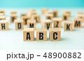 アルファベット 教育 文字の写真 48900882