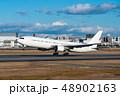 ボーイング767-300ER離陸シーン 48902163