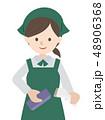レジ作業 女性 48906368