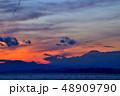 海 夕暮れ 藤沢市の写真 48909790