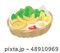 揚げ物 食べ物 ファーストフードのイラスト 48910969