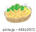 揚げ物 食べ物 ファーストフードのイラスト 48910972