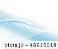 波 風 流れのイラスト 48915018