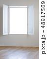 白い窓 48917569