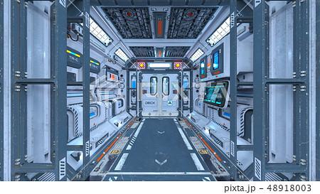 宇宙船内部 48918003