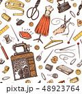 ソーイング ミシン掛け 縫のイラスト 48923764