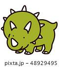トリケラトプス 48929495