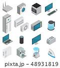 Electronics Isometric Set 48931819