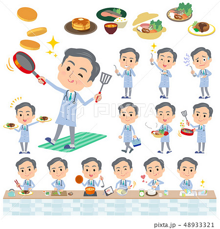 Doctor old men_cooking 48933321
