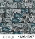 背景 ロック 石のイラスト 48934397