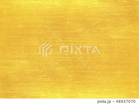 Shiny yellow leaf gold foil texture 48937070