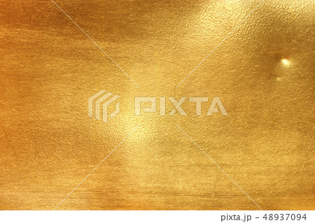 Shiny yellow leaf gold metall 48937094