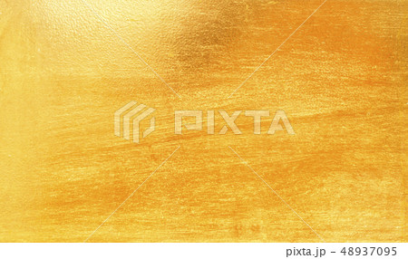 Shiny yellow leaf gold metall 48937095