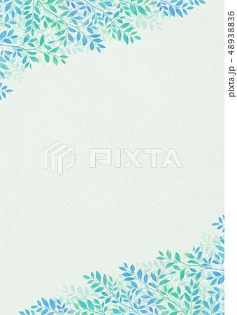 背景素材_木の葉 48938836