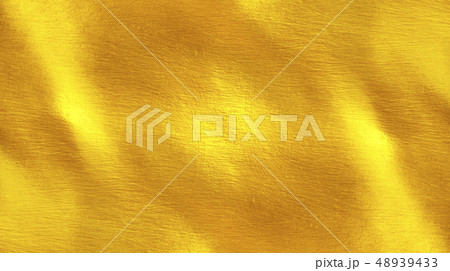 Shiny yellow leaf gold metall 48939433