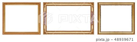 Old gold frame 48939671
