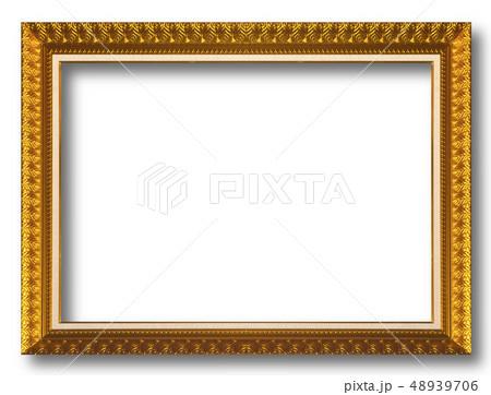 Old gold frame 48939706