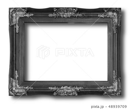 Old Antique Black frame 48939709