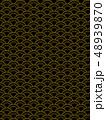 和風 和柄 和風背景 和柄素材 日本 和 和模様 市松模様 フレーム 枠 48939870