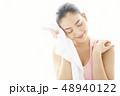 女性 アジア人 エクササイズの写真 48940122