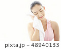 女性 アジア人 エクササイズの写真 48940133