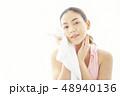 女性 アジア人 エクササイズの写真 48940136