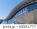 空 飛行機 日本の写真 48941777