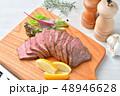 ローストビーフ、肉料理、手作り。国産交雑牛の牛モモ肉ブロックを使ったローストビーフです。 48946628