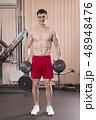 バーベル ジム スポーツジムの写真 48948476