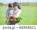 男の子 お母さん 母の写真 48948621