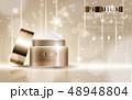 化粧 化粧品 広告のイラスト 48948804