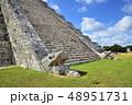 チチェンイッツァ遺跡 エル・カスティージョ ククルカン(メキシコ) 48951731