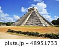 チチェンイッツァ遺跡 エル・カスティージョ(メキシコ) 48951733