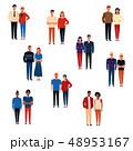 人々 人物 女性のイラスト 48953167