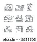 ファクトリー 工場 製造所のイラスト 48956603