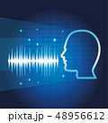 声 認識 スピーカーのイラスト 48956612
