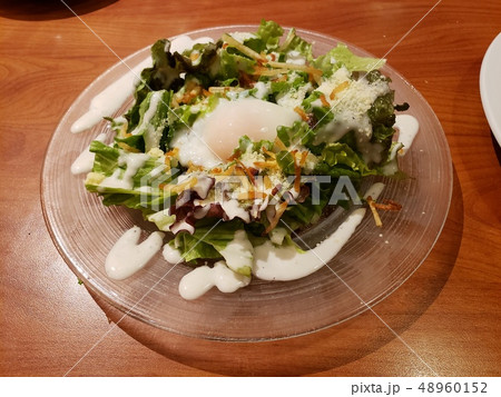 Caesar salad シーザーサラダ 48960152