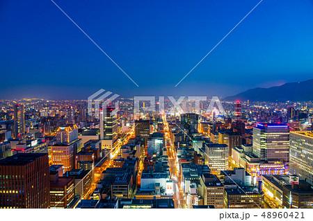 【北海道】都市風景 48960421