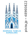 教会 聖堂 ベクトルのイラスト 48960822