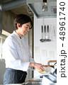 キッチン 厨房 レストランの写真 48961740