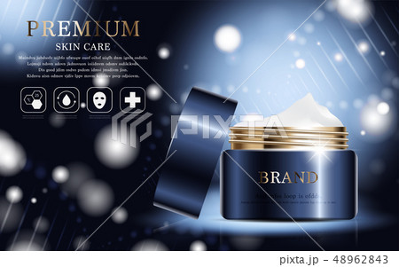 Hydrating facial cream for annual sale. 48962843