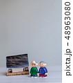 人形 シニア 老夫婦の写真 48963080