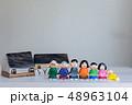 人形 家族 3世代の写真 48963104